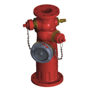 Jones Monitor Fire Hydrant